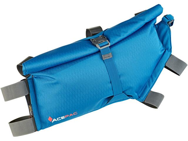 Acepac Roll Frame Bag M blue